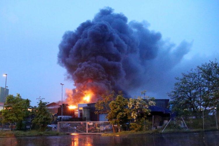 Großbrand Aschaffenburg